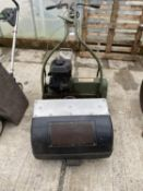 A VINTAGE WEBB LAWN MOWER WITH 5HP B&S ENGINE NO VAT, PROCEEDS TO CHARITY