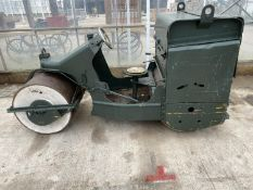 A TWO DRUM VIBRATING ROLLER EX. CRICKET CLUB WITH LONCIN 163CC GASOLINE ENGINE NO VAT PROCEEDS TO