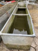 A 10' X 2' HIGH WATER TROUGH NO VAT
