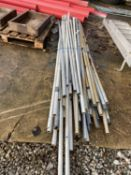 VARIOUS LENGTHS OF GREY IRRIGATION PIPING NO VAT