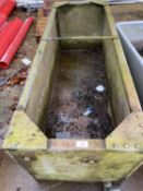 "A WATER TROUGH 66"" LONG X 24"" WIDE 24"" HIGH WITH TAP NO VAT"