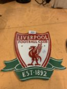 A CAST LIVERPOOL FOOTBALL CLUB SIGN
