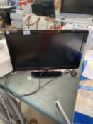 """A PHILIPS 22"""" TELEVISION BELIEVED IN WORKING IORDER BUT NO WARRANTY"""