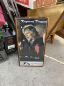 A FRAMED POSTER OF RAYMOND FROGGATT APPEARING IN THE 'HERE'S TO EVERYONE' TOUR, FOLKESTONE 1992