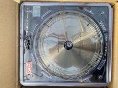 25 DART SILVER 'TCT' WOOD CUTTING BLADES DIAMETER 230mm BORE 30mm - NO VAT