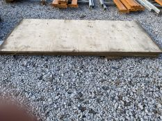 TWO 8'X4' BOARDS AND FOUR OTHERS - NO VAT