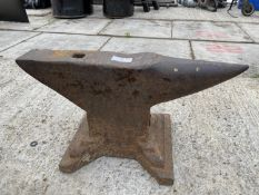 "A SMALL ANVIL 19.5"" LONG 10.5"" HIGH - NO VAT"