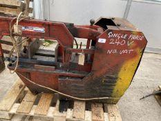 A SEALEY POWER HACKSAW - 240 VOLT - NO VAT