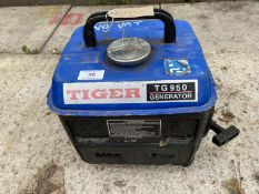A TIGER TG 950 GENERATOR - NO VAT