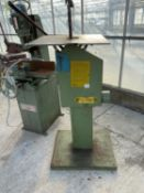A FLINTEC GRINDER WITH CARPANELLI ELECTRIC MOTOR - NO VAT
