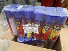 24 SPRAY CANS OF DP 60 + VAT