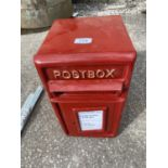 "POST BOX 17"" HIGH 9.5"" WIDE + KEY + VAT"