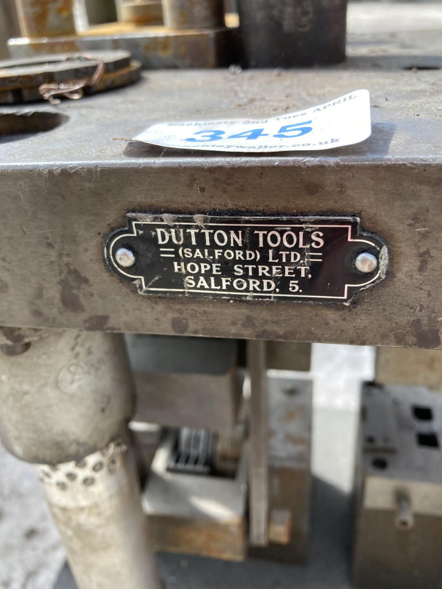 A DUTTON TOOLS SALFORD DATE STAMPER NO VAT - Image 2 of 2