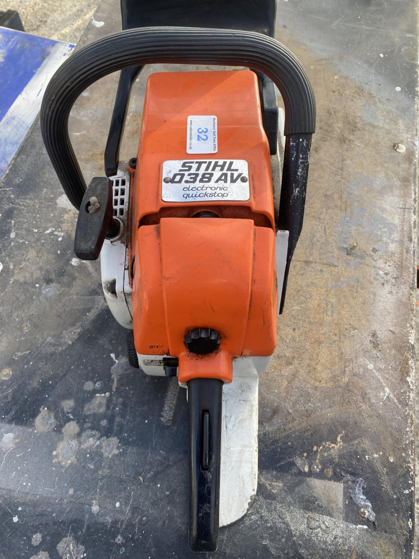 A STHIL 038 AV ELECTRONIC QUICKSTOP CHAIN SAW NO VAT - Image 3 of 5