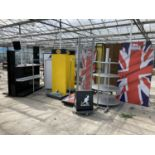 TEN SHOP DISPLAY UNITS NO VAT