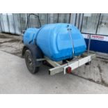 A MOBILE JET WASHER WITH DIESEL ENGINE BELIEVED WORKING NO WARRANTY - NO VAT