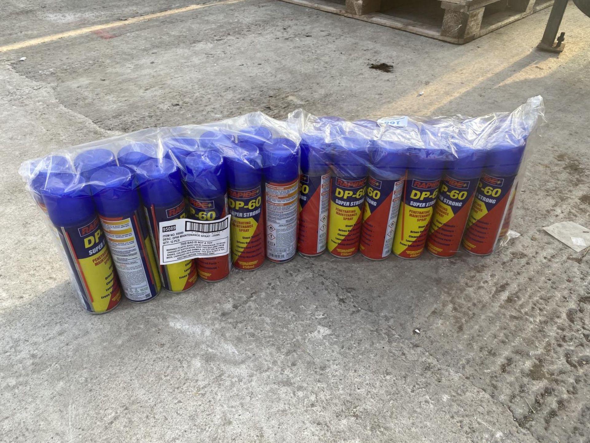 24 CANS DP60 SPRAY + VAT