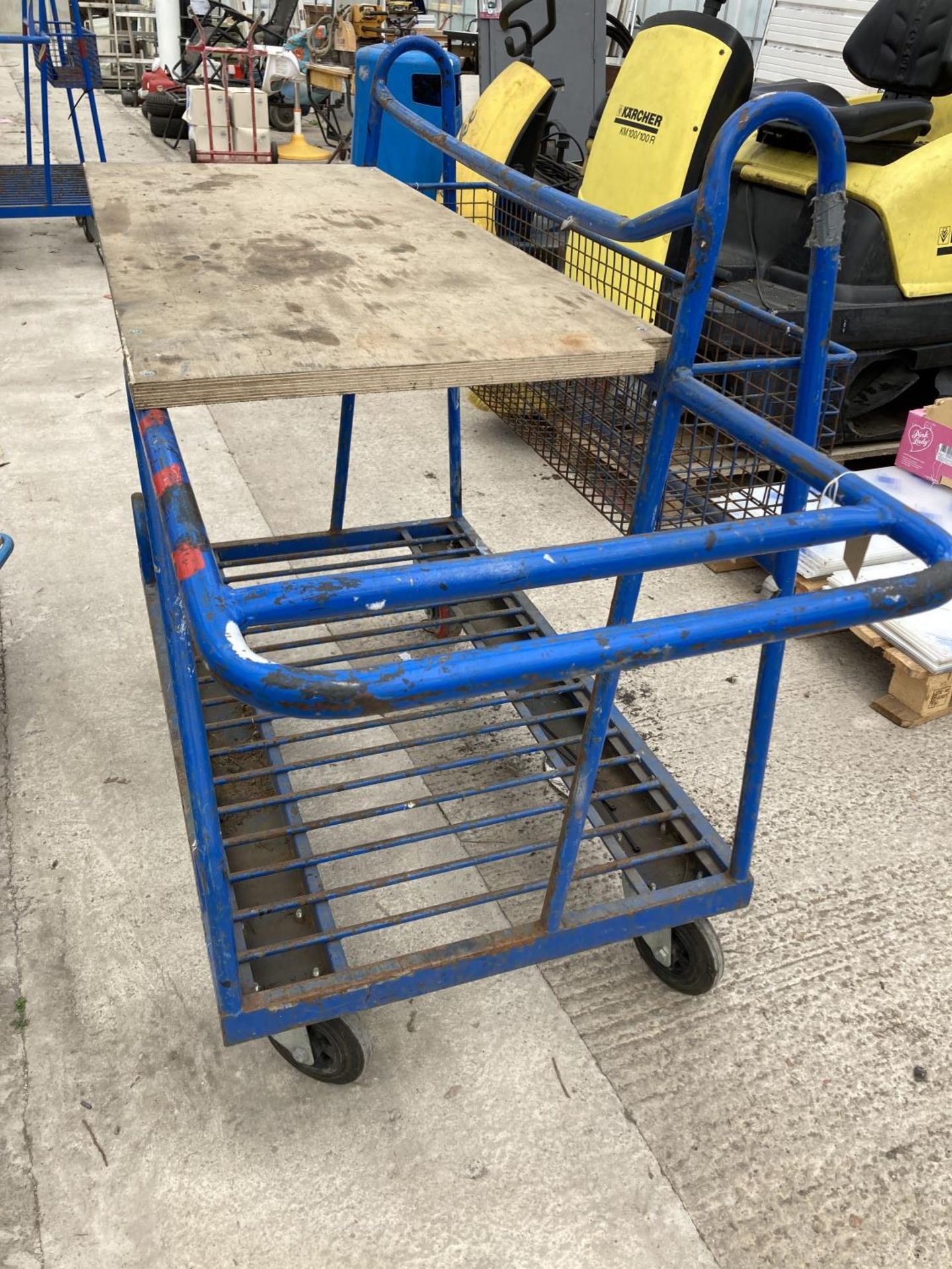 TWO TROLLEYS NO VAT - Image 2 of 3