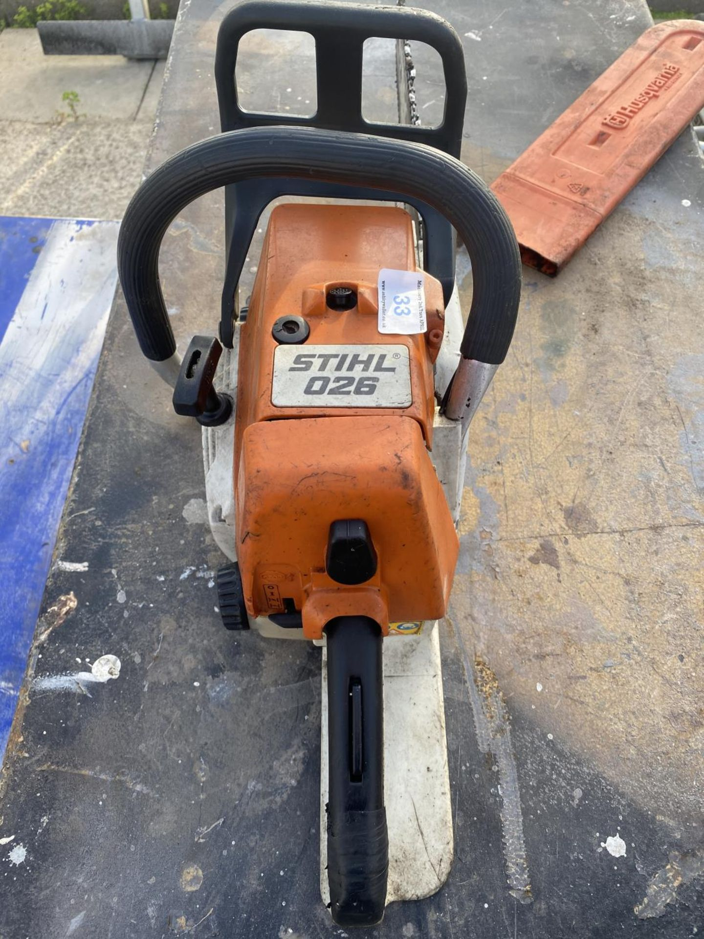 A STIHL 026 CHAINSAW - N0 VAT - Image 3 of 6