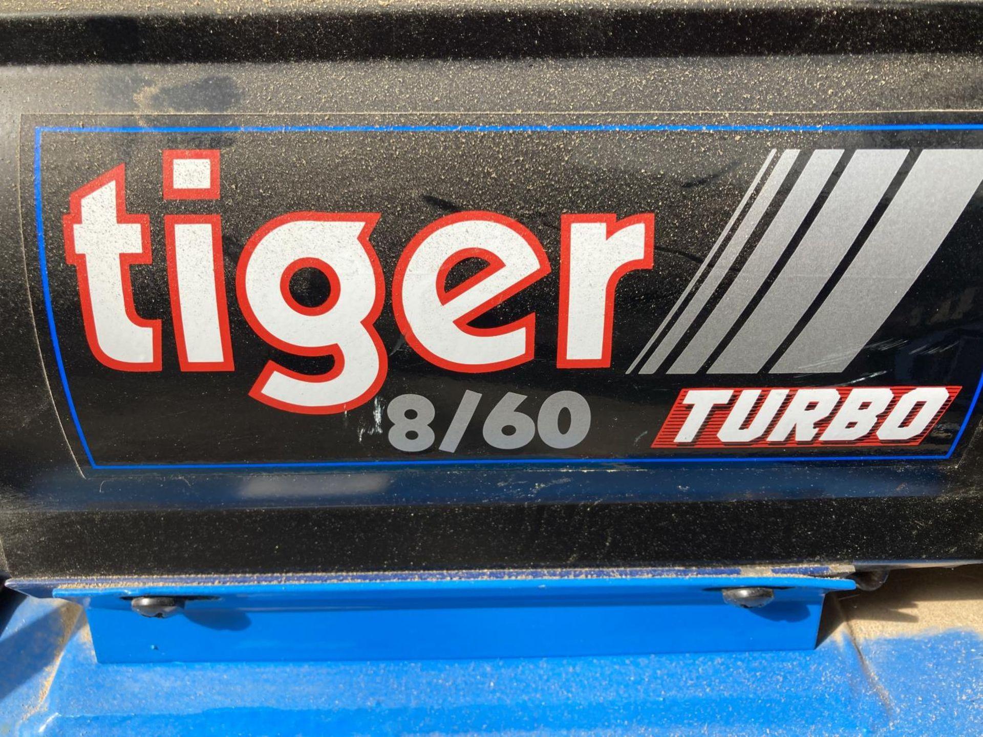 A MASTER TIGER 8/60 TURBO COMPRESSOR NO VAT - Image 2 of 3