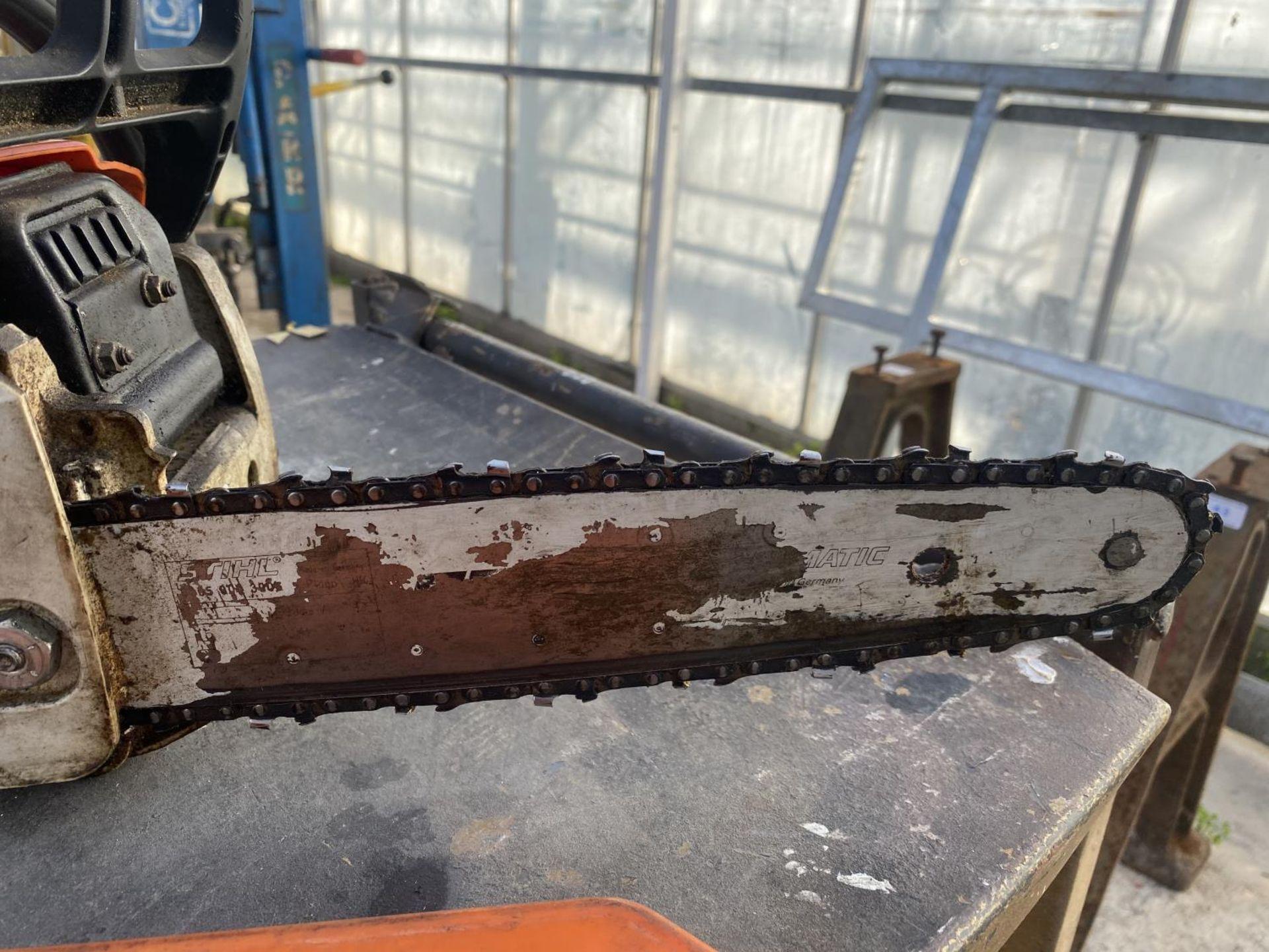 A STIHL MS170 CHAINSAW NO VAT - Image 2 of 6