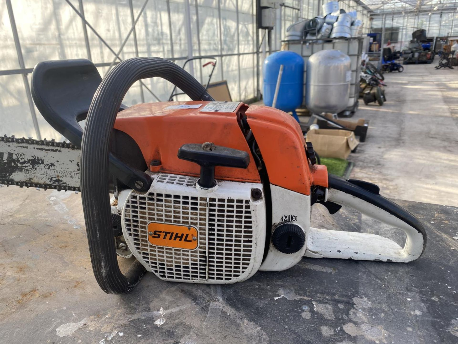 A STHIL 038 AV ELECTRONIC QUICKSTOP CHAIN SAW NO VAT - Image 4 of 5