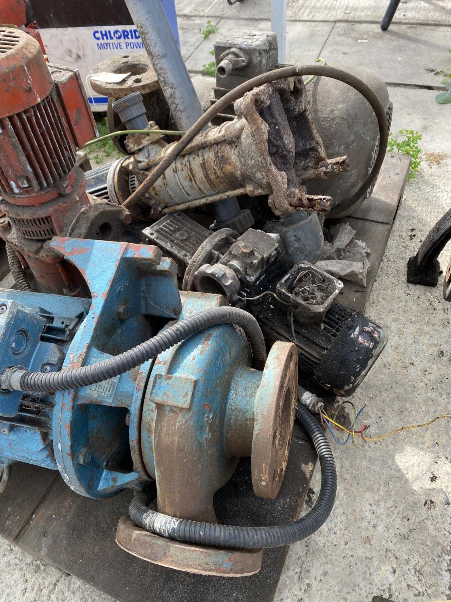 A PALLET OF MOTORS + VAT - Image 2 of 4