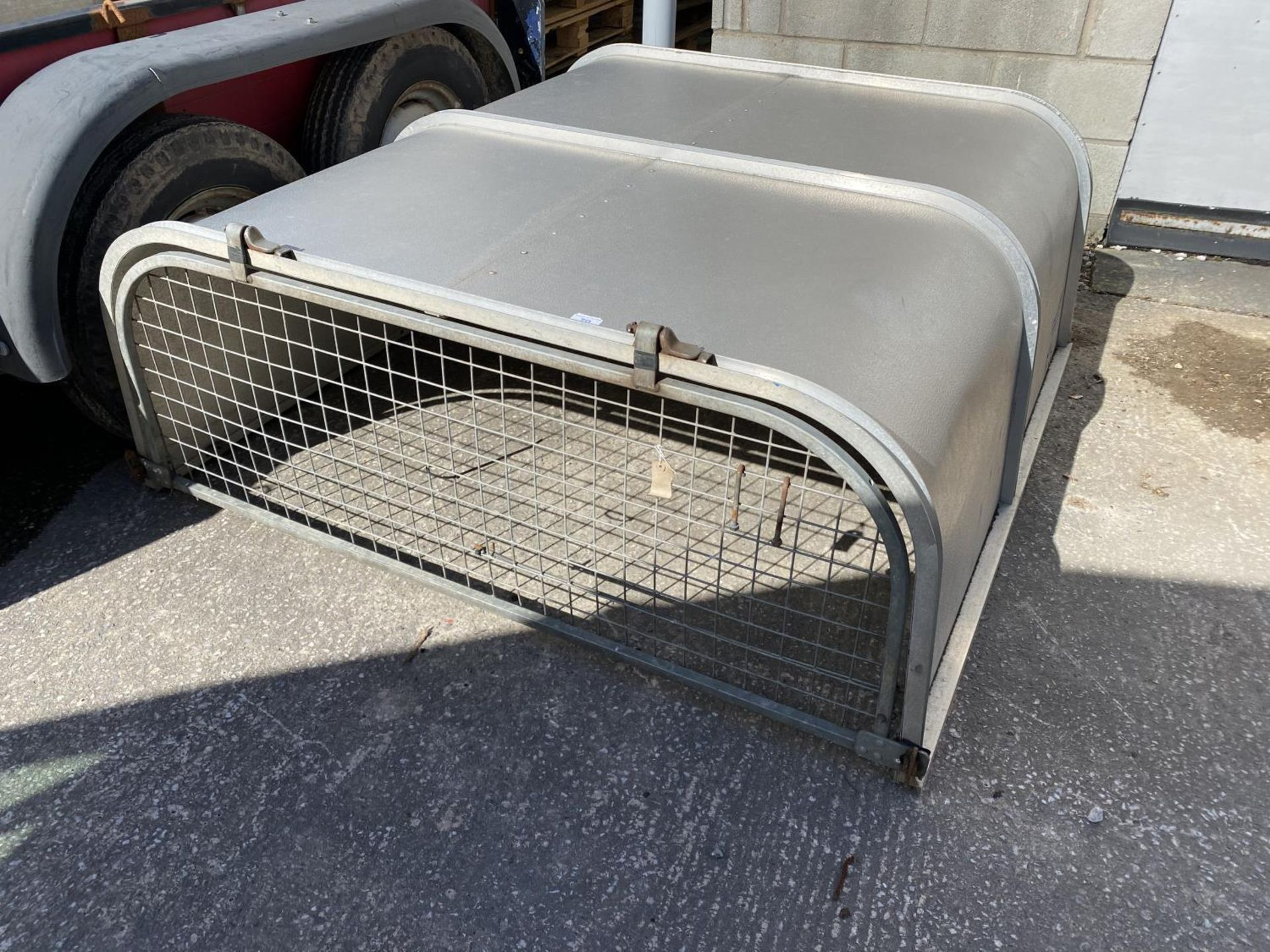 AN IFOR WILLIAMS PICK UP CANOPY - NO VAT