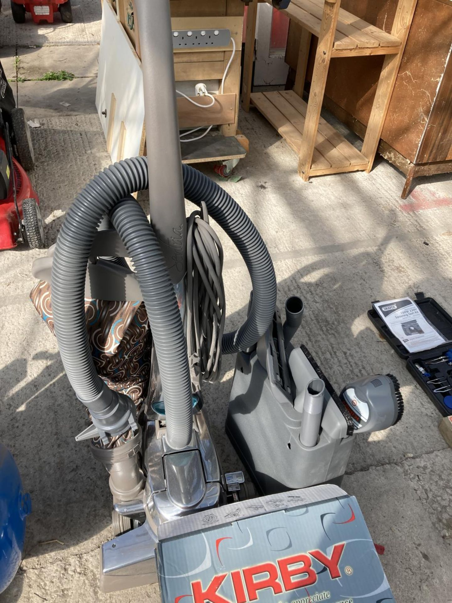 A KIRBY CLEANER AND ATTACHMENTS NO VAT - Image 3 of 5