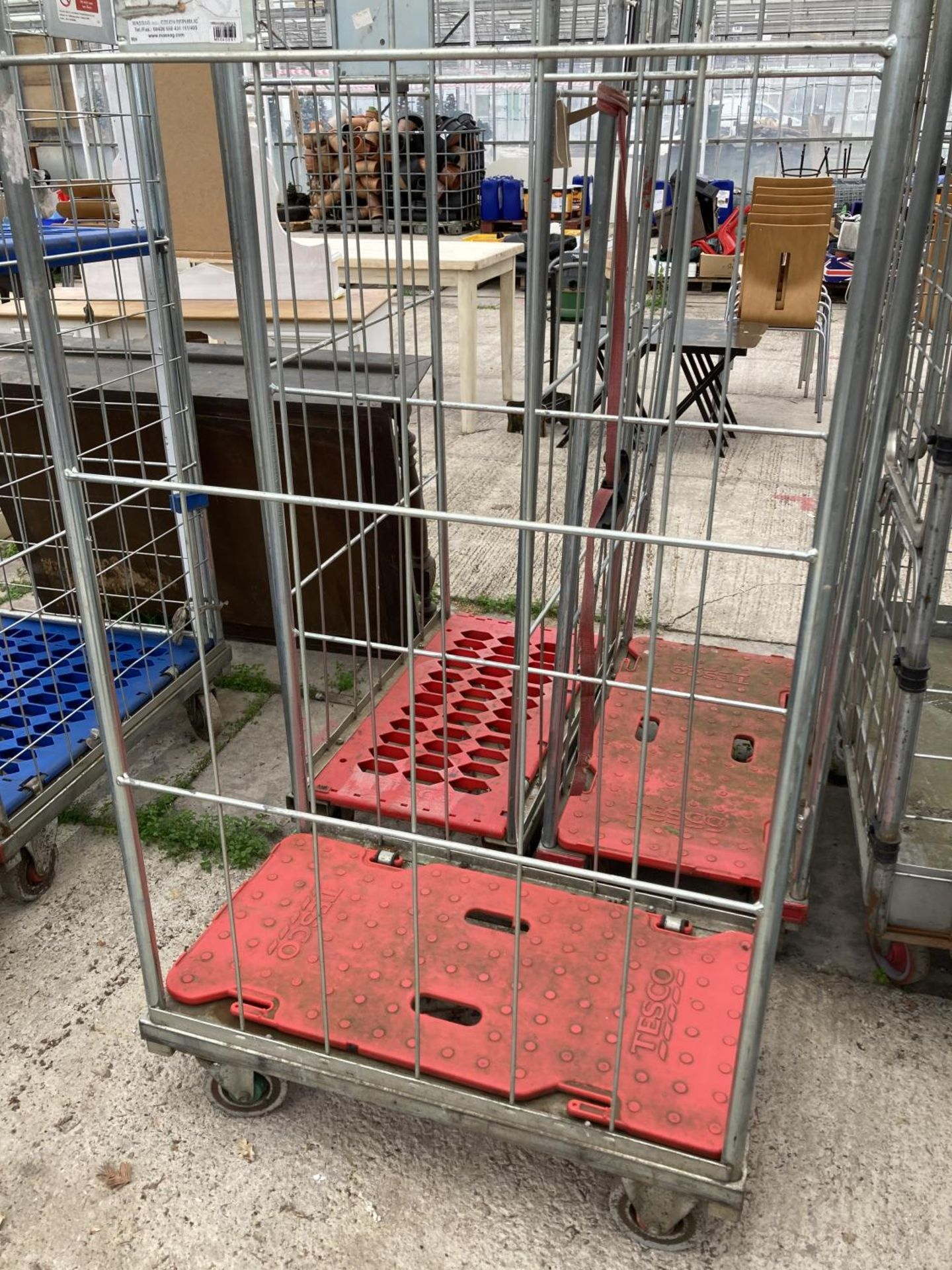 THREE TROLLEYS NO VAT