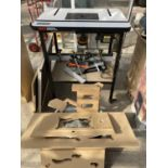 A A TREND WRT WORKSHOP ROUTER TABLE WITH SPARES NO VAT