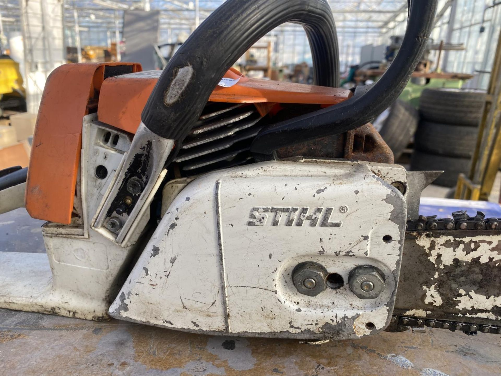 A STIHL 026 CHAINSAW - N0 VAT - Image 4 of 6