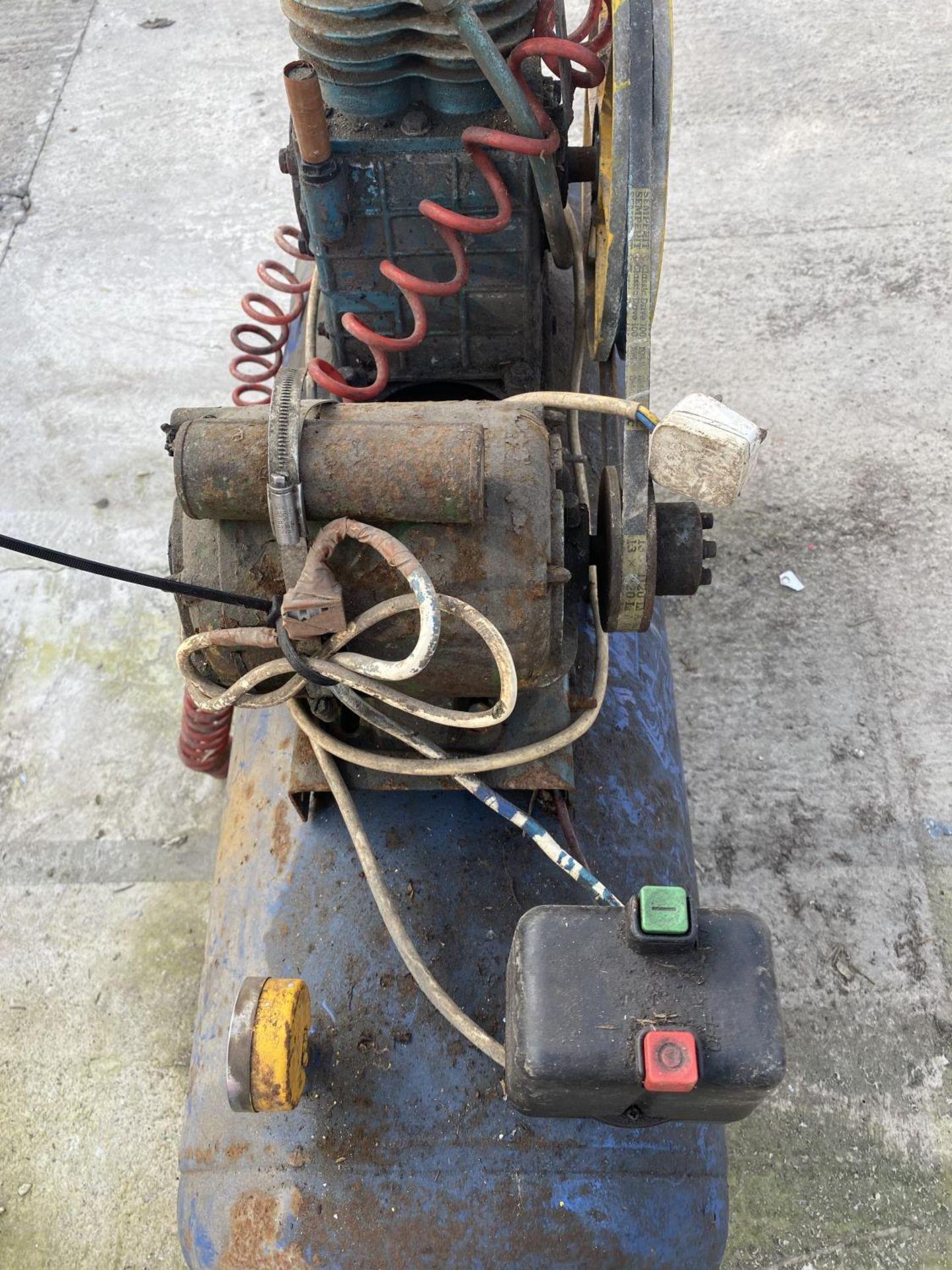 A CLARKE COMPRESSOR + VAT - Image 3 of 7