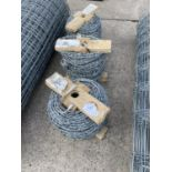 3 ROLLS OF BARBER WIRE + VAT