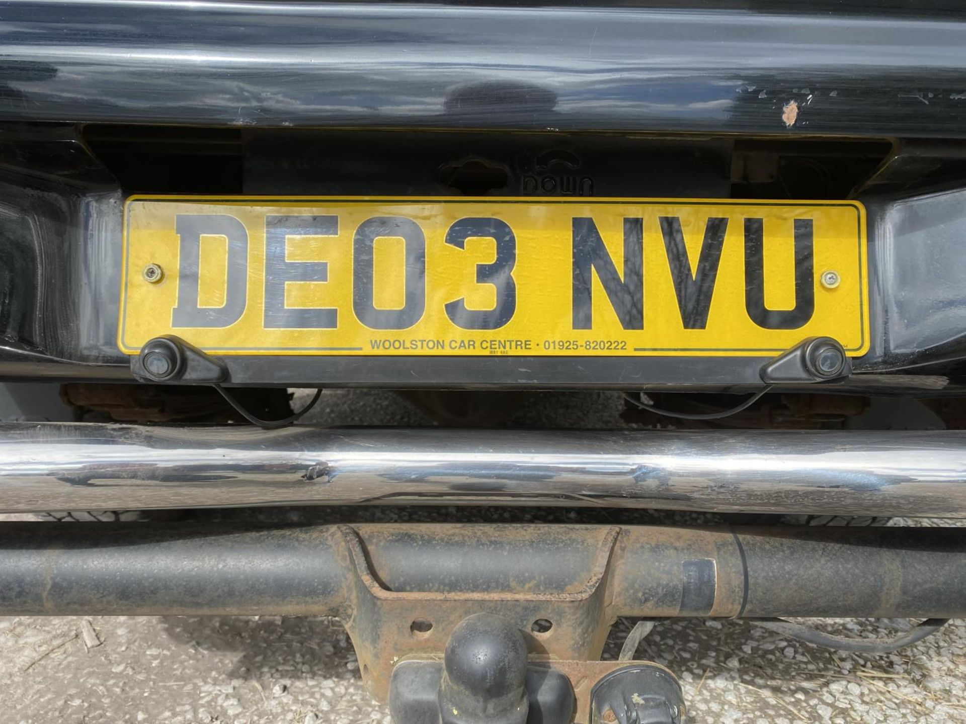 A MITSUBISHI WARRIOR TWIN CAB L200 PICK UP WITH ALFA BACK 119300 MILES AT TIME OF CATALOGING MOT - Image 8 of 8