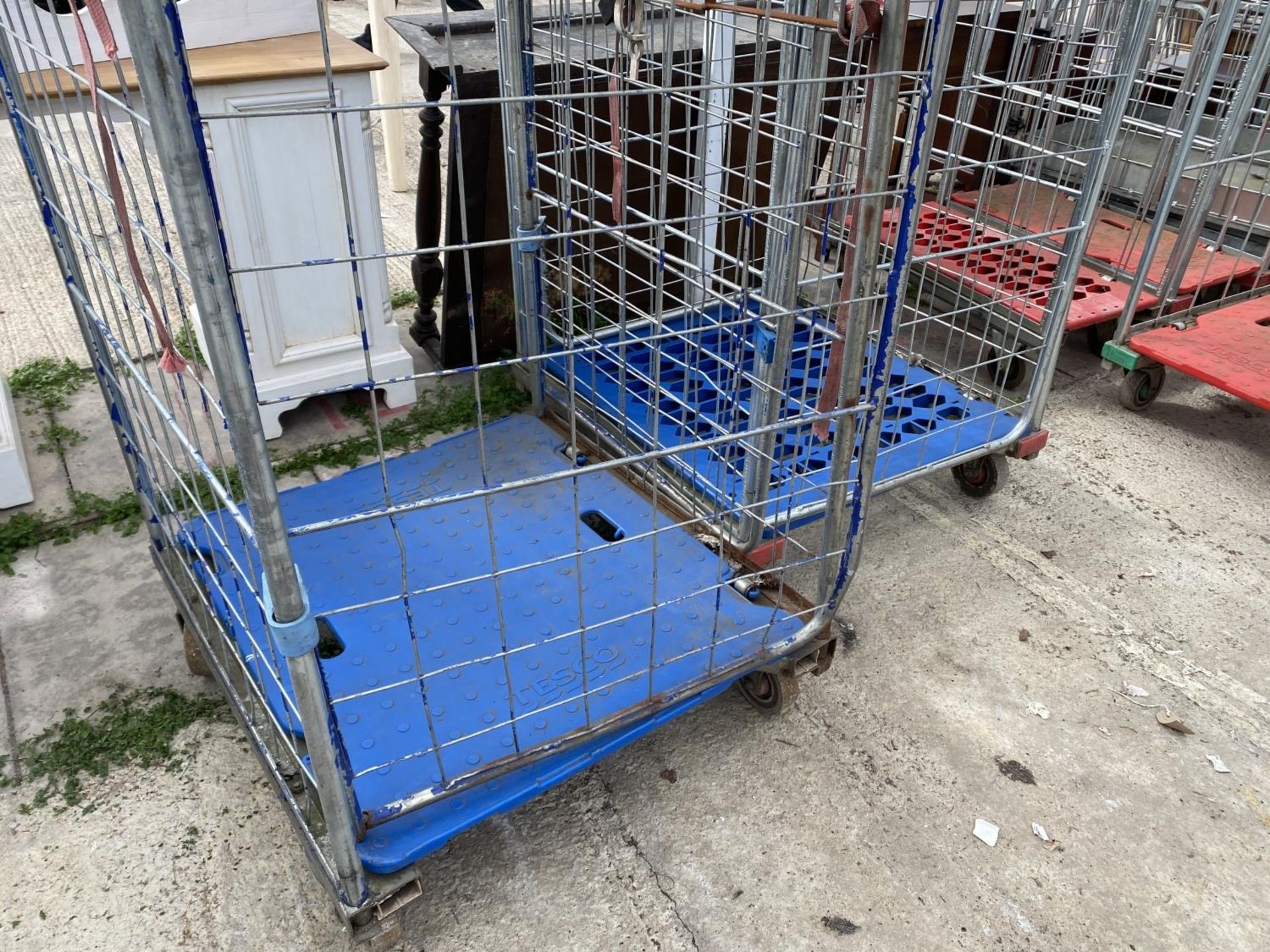 TWO TROLLEYS NO VAT - Image 2 of 4