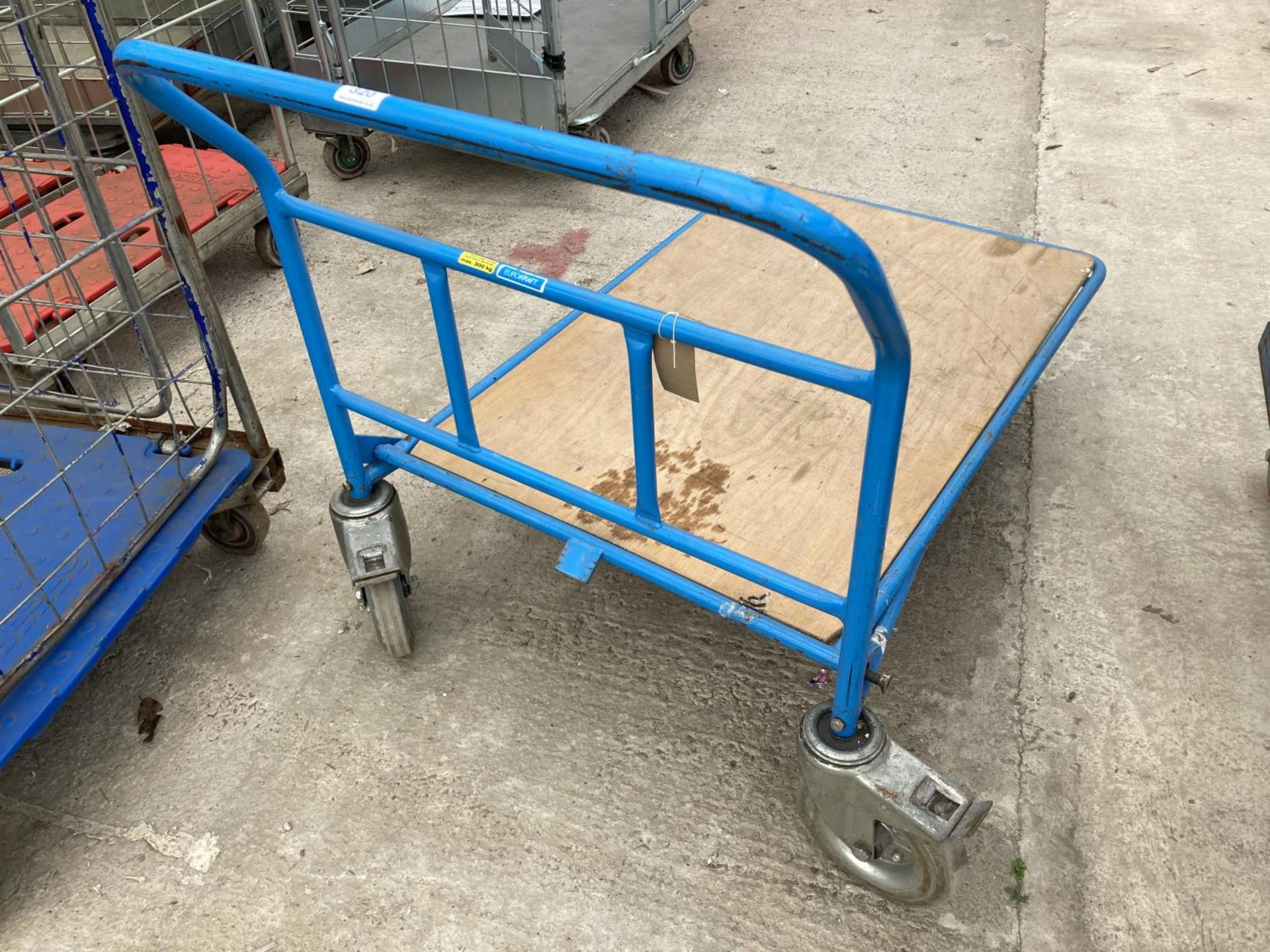 TWO TROLLEYS NO VAT - Image 3 of 3
