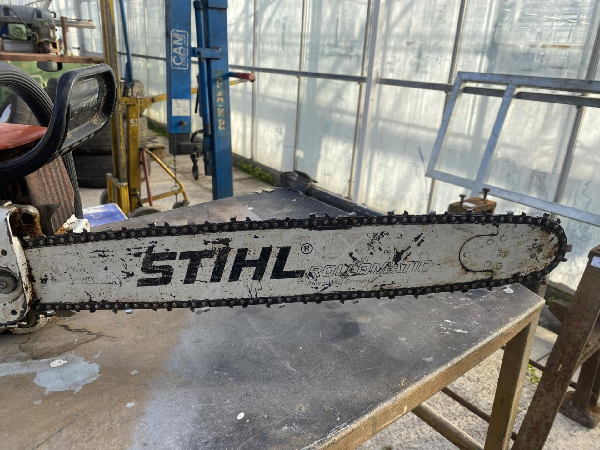 A STHIL 038 AV ELECTRONIC QUICKSTOP CHAIN SAW NO VAT - Image 2 of 5