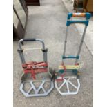 TWO TROLLEYS NO VAT