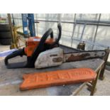 A STIHL MS170 CHAINSAW NO VAT
