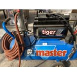 A MASTER TIGER 8/60 TURBO COMPRESSOR NO VAT