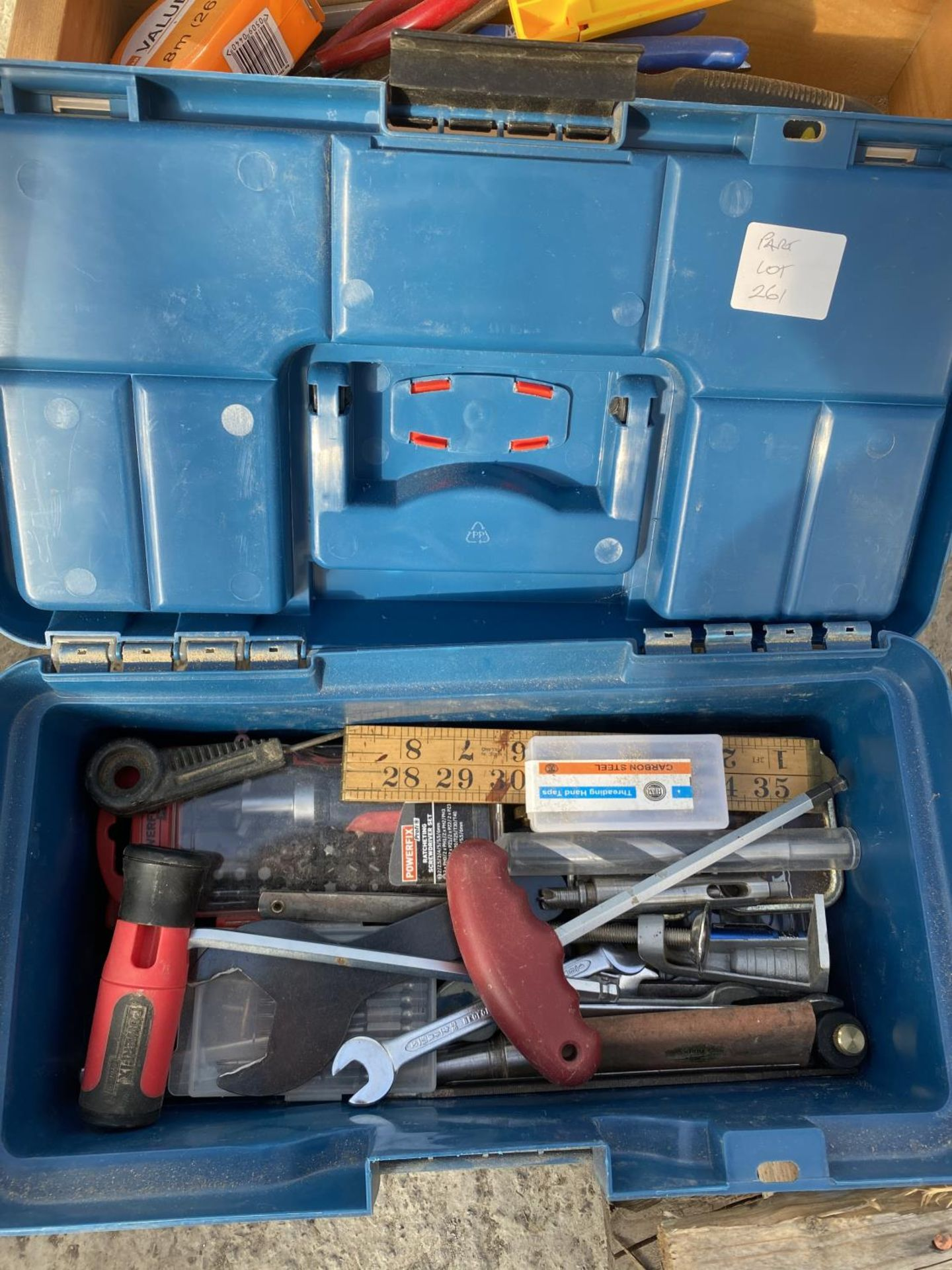 FOUR TOOL BOXES AND CONTENTS TO INCLUDE SPANNERS, SOCKETS, ALLUN KEYS ETC - NO VAT - Image 2 of 6