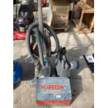 A KIRBY CLEANER AND ATTACHMENTS NO VAT