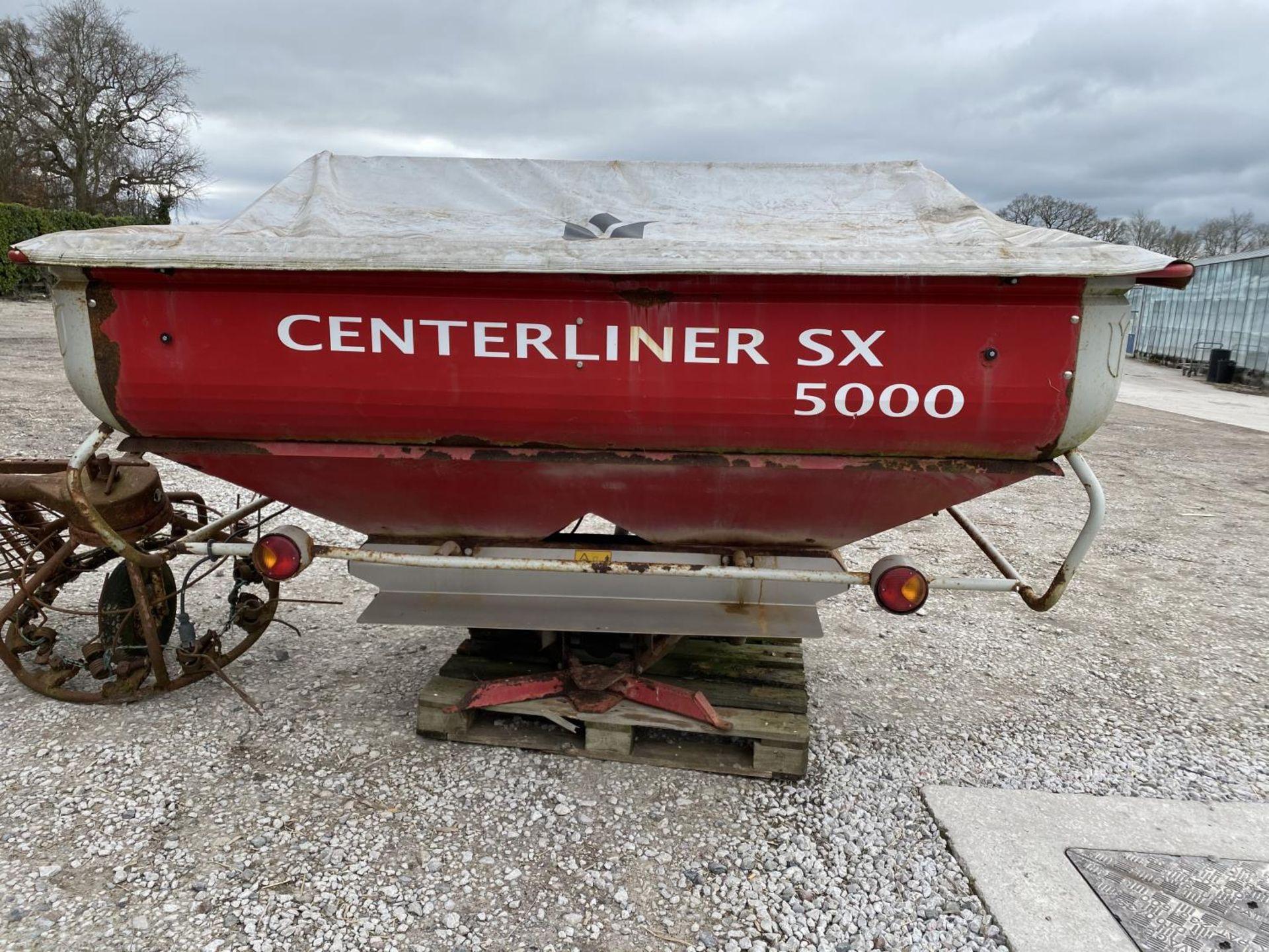 A LELY TULIP 510 CENTERLINER SX 5000 FERTILSER SPINNER WITH PTO - NO VAT - Image 3 of 7