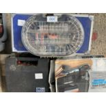 A LARGE QUANTITY OF TOOLS TO INCLUDE A DREMEL 3000, BLACK AND DECKER JIGSAW, VARIOABLE SPEED