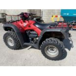 A HONDA TRX FOREMAN 500 CC QUAD BIKE - SEE VIDEO OF VEHICLE STARTING AND RUNNING AT https://www.