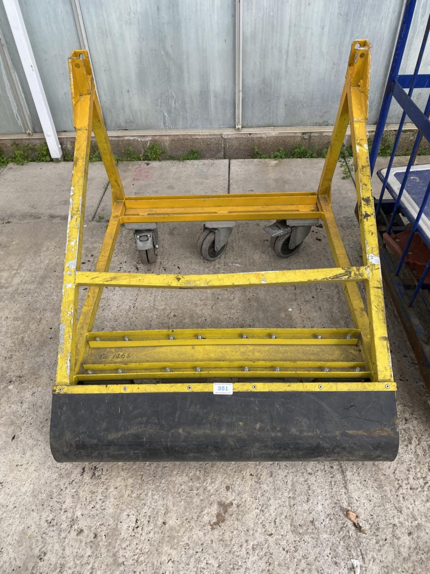 VARIOUS TROLLEYS AND AN INCINERATOR NO VAT - Image 2 of 5