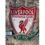 A CAST LIVERPOOL FOOTBALL CLUB SIGN NO VAT