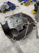 VARIOUS WIRE ROPES - NO VAT