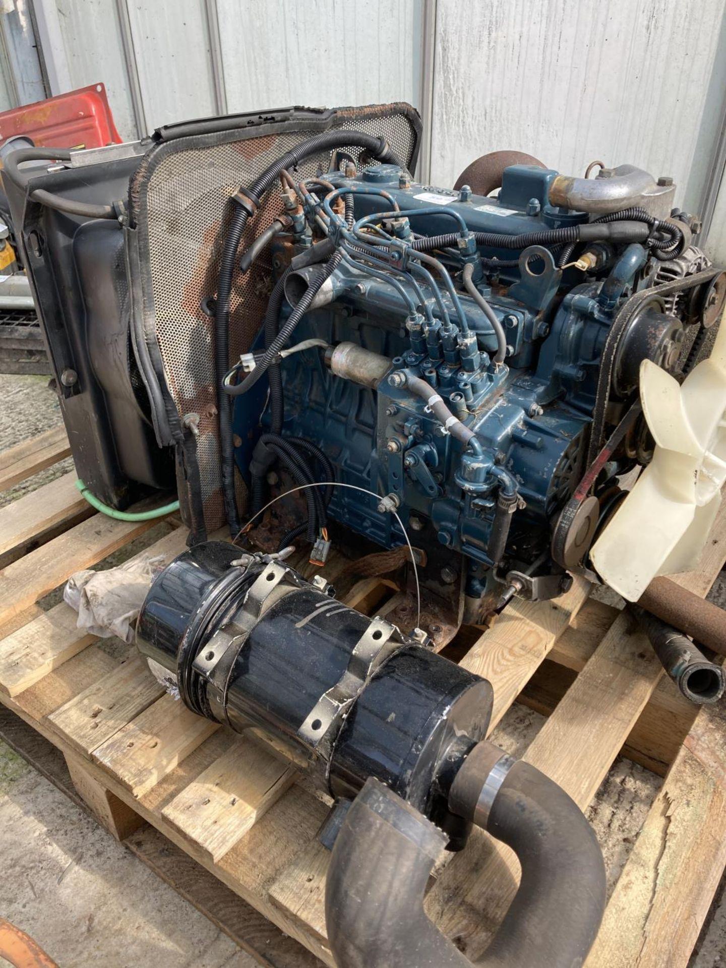 A KUBOTA V1505 ENGINE NO VAT